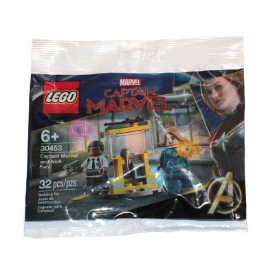 LEGO SUPER HEROES Captain Marvel et Nick Fury sac 2020